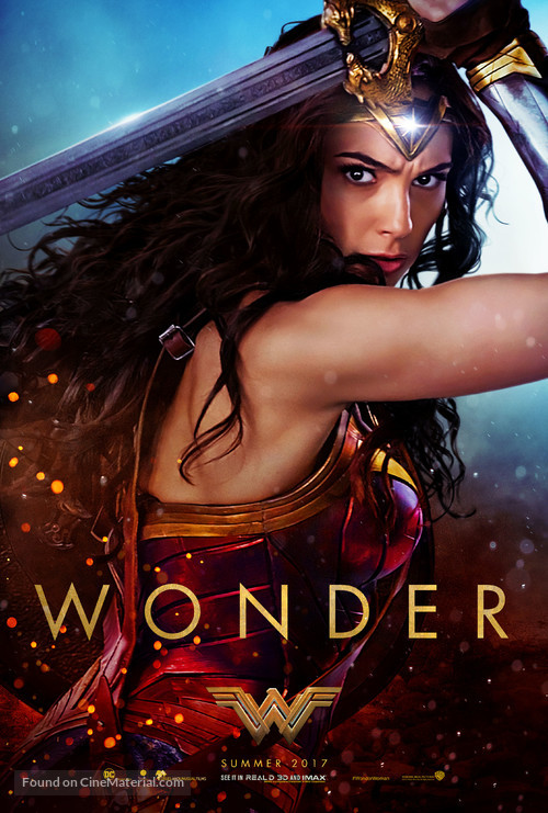 Wonder Woman - Teaser movie poster