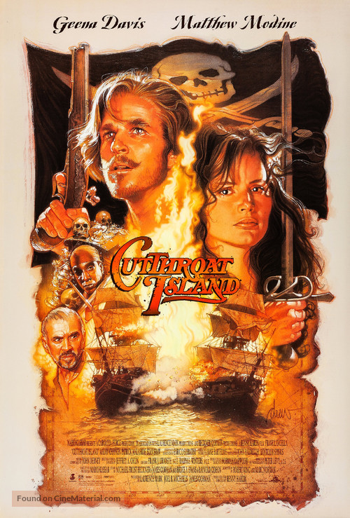 Cutthroat Island - Movie Poster