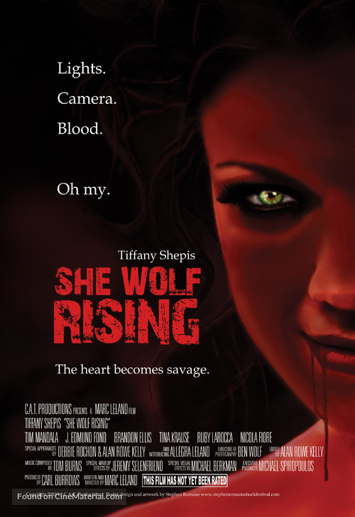 She Wolf Rising - Movie Poster