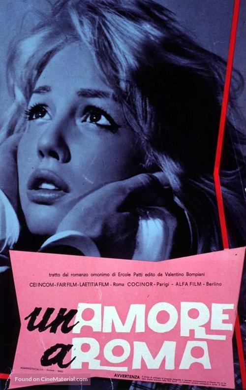 Amore a Roma, Un - Italian Movie Poster