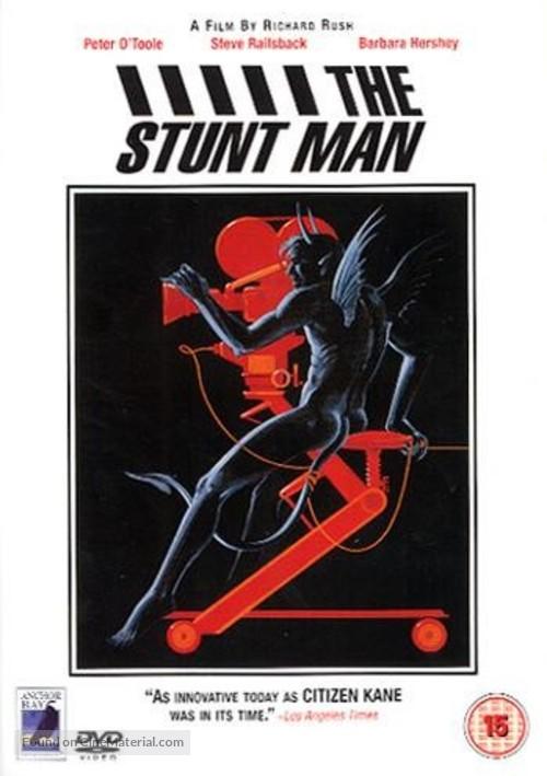 The Stunt Man - British DVD movie cover