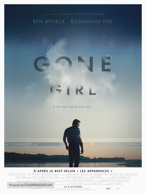Gone Girl - French Movie Poster