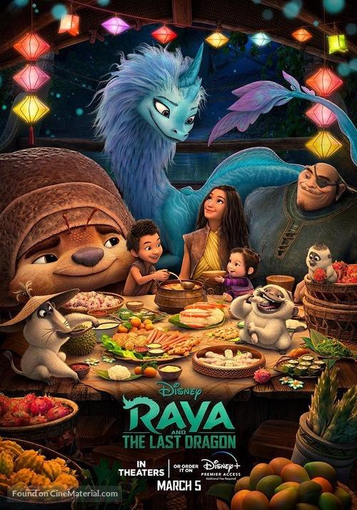 Raya and the Last Dragon - Singaporean Movie Poster