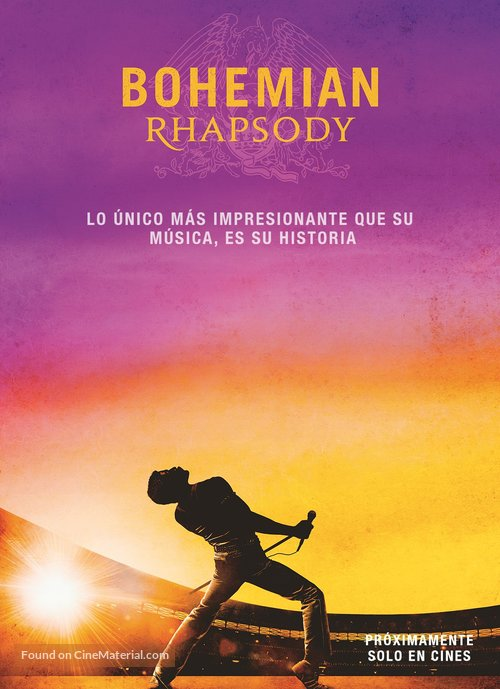 Bohemian Rhapsody - Uruguayan Movie Poster