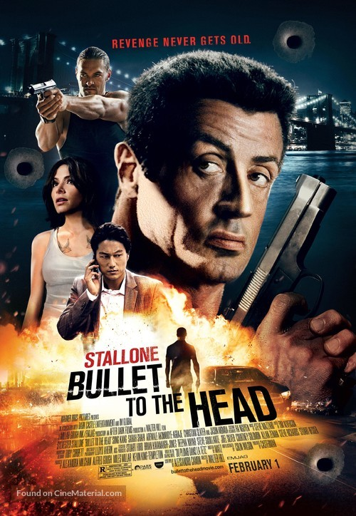 Bullet to the Head - Theatrical movie poster