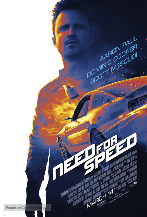 Need for Speed - Theatrical movie poster