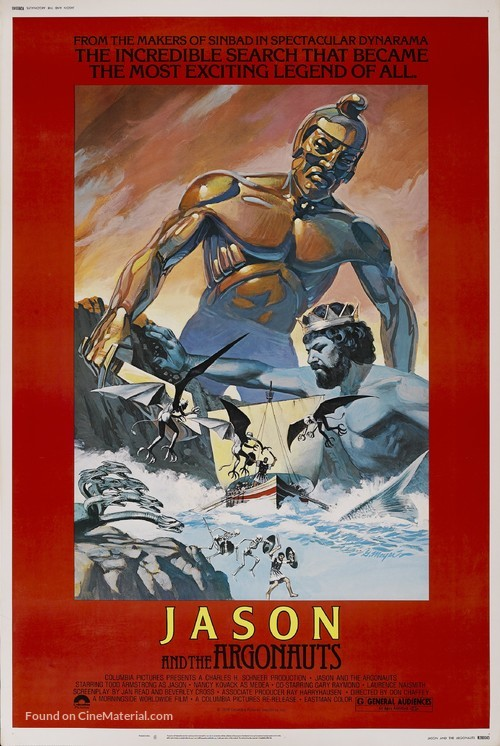 Jason and the Argonauts - Movie Poster
