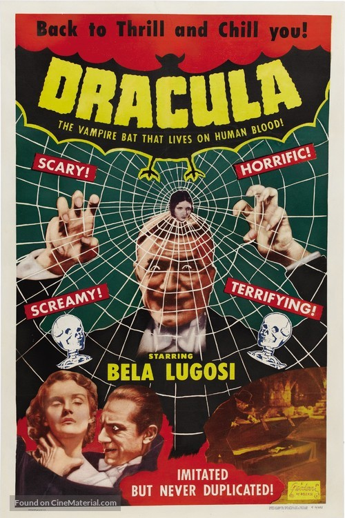 Dracula - Re-release movie poster