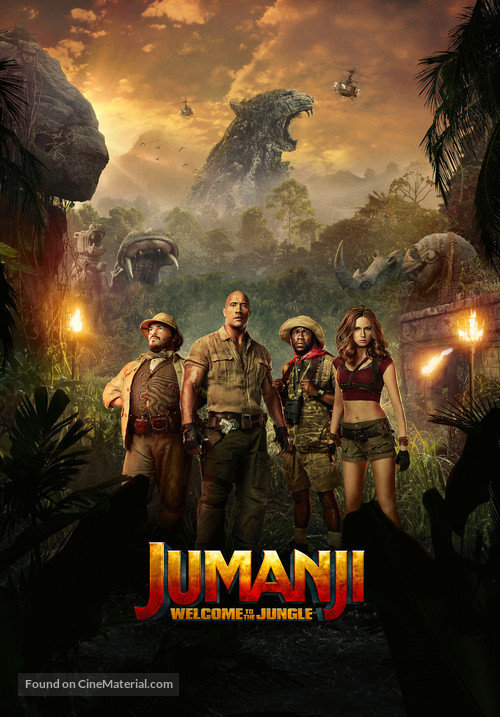 Jumanji: Welcome to the Jungle - Movie Poster