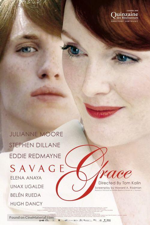 Savage Grace - Movie Poster