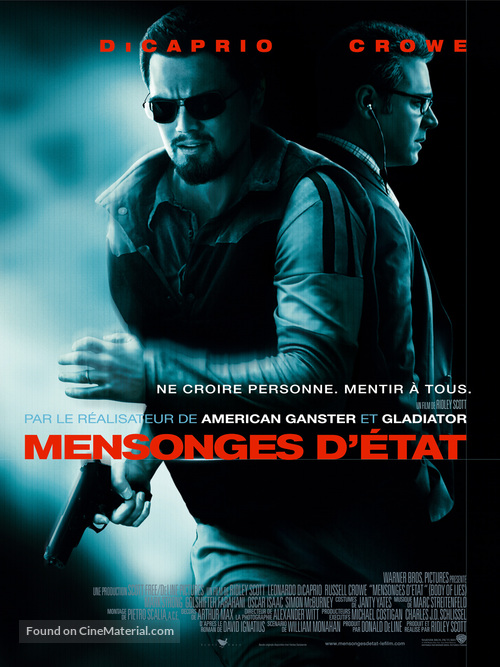 Body of Lies - French Movie Poster