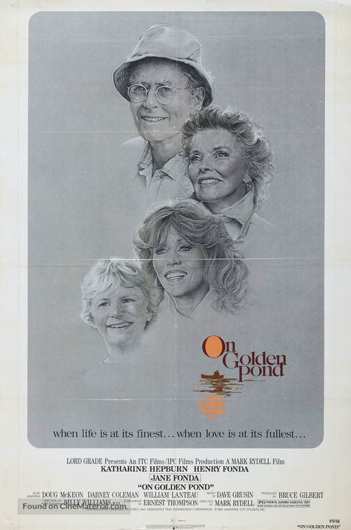 On Golden Pond - Movie Poster