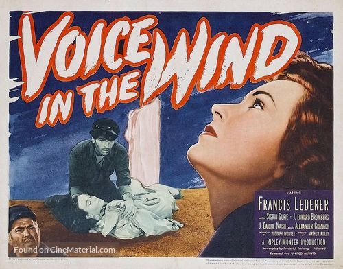 A Voice in the Wind - Movie Poster