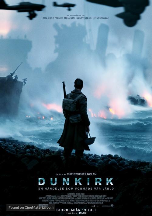 Dunkirk - Swedish Movie Poster