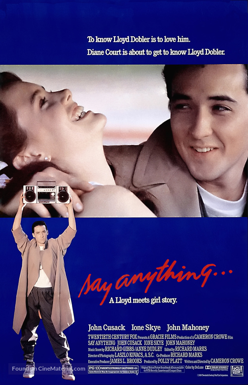 Say Anything... - Theatrical poster