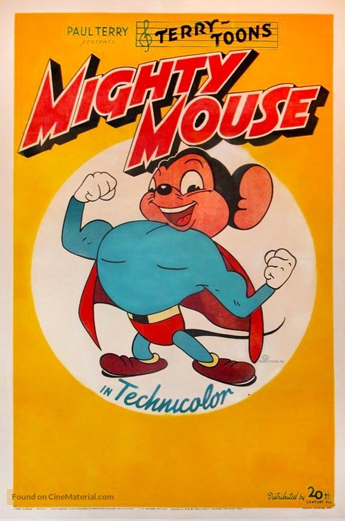 """""""The Mighty Mouse Playhouse"""" - Movie Poster"""