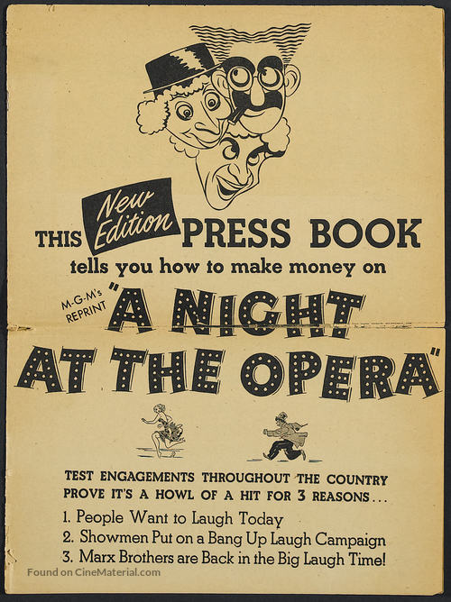 A Night at the Opera - Movie Poster