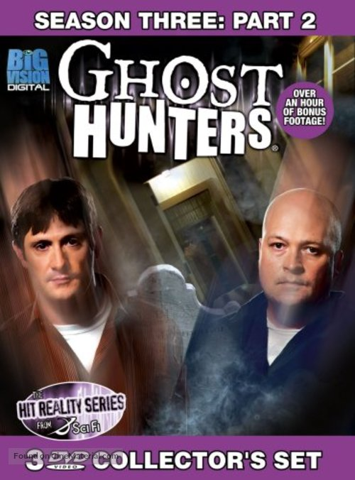 """Ghost Hunters"" - DVD movie cover"