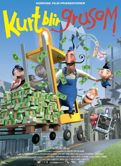 Kurt blir grusom - Danish Movie Poster