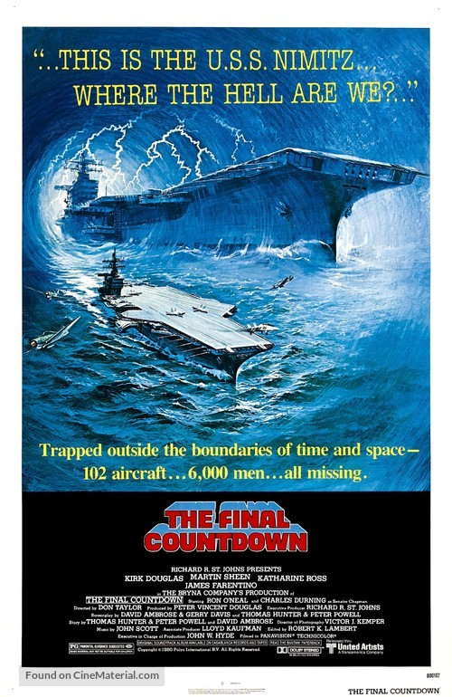 The Final Countdown - Movie Poster