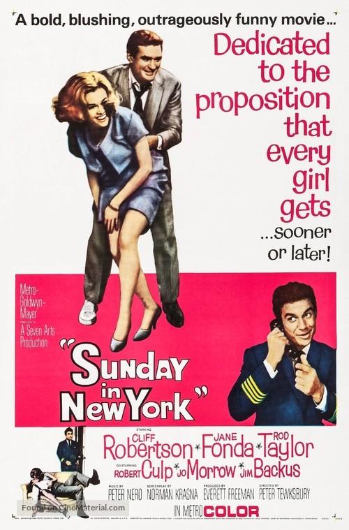 Sunday in New York - Movie Poster