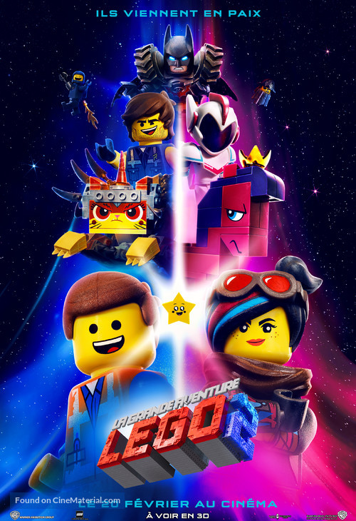 The Lego Movie 2: The Second Part - French Movie Poster