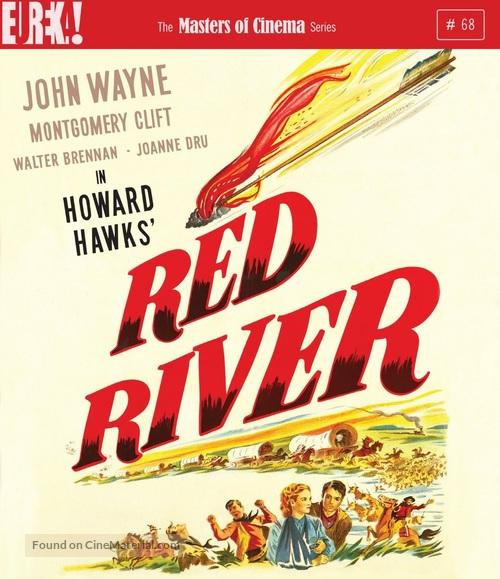 Red River - British Blu-Ray movie cover