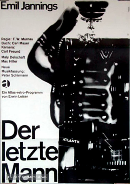 Der letzte Mann - German Movie Poster