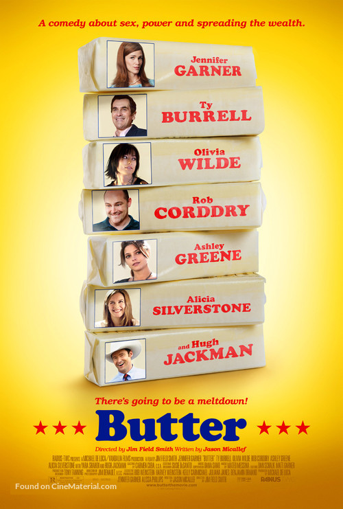 Butter - Movie Poster