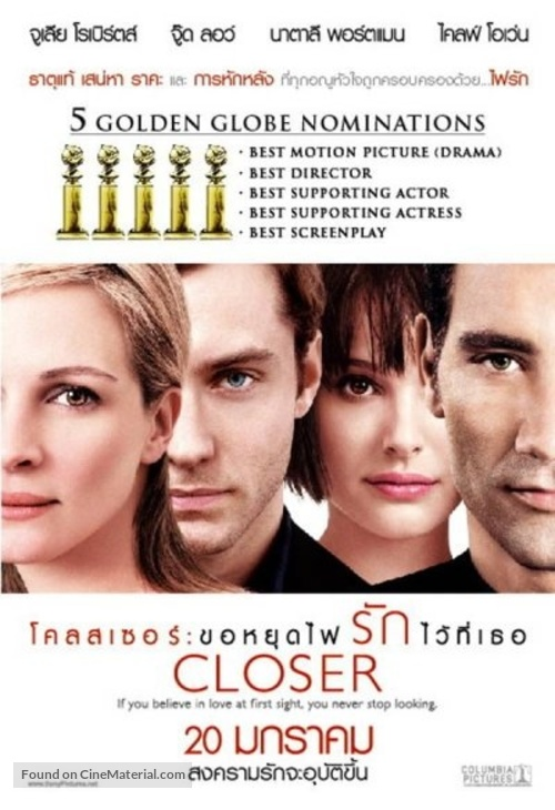 Closer - Thai poster