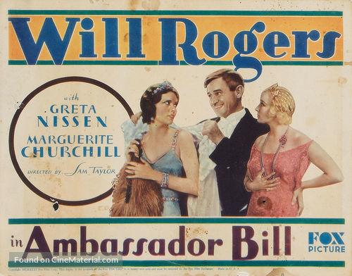 Ambassador Bill - Movie Poster
