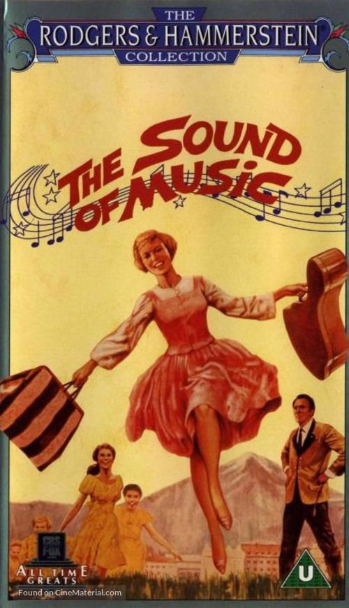 The Sound of Music - British VHS movie cover