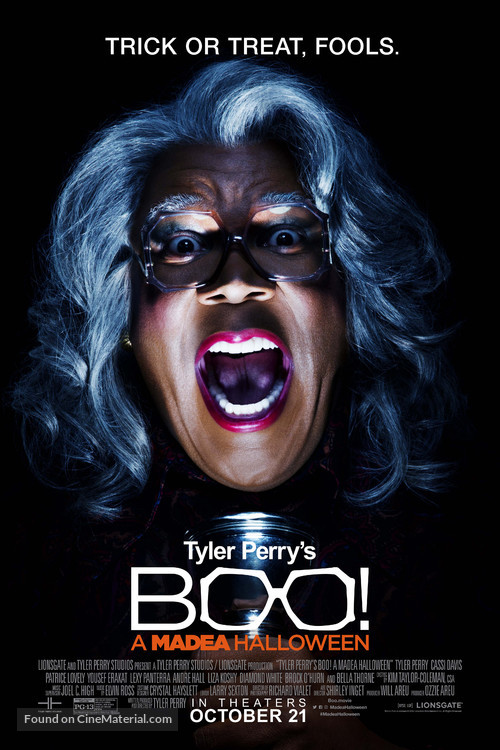 Boo! A Madea Halloween - Theatrical movie poster