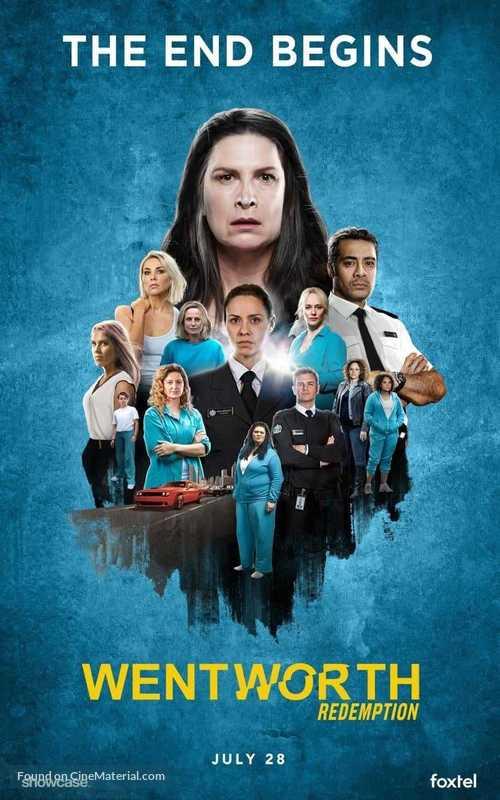"""""""Wentworth"""" - Australian Movie Poster"""