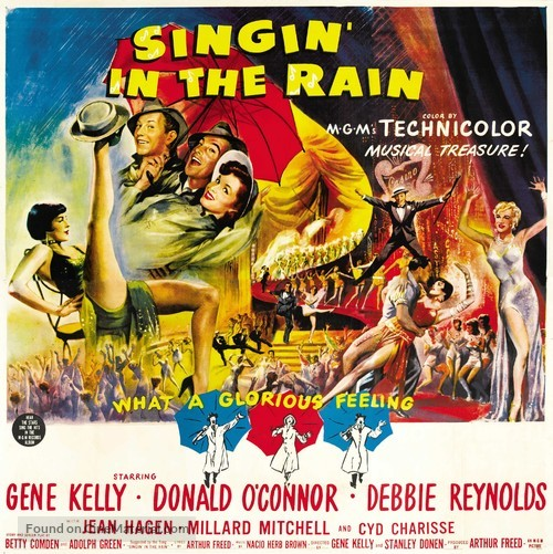 Singin' in the Rain - Movie Poster