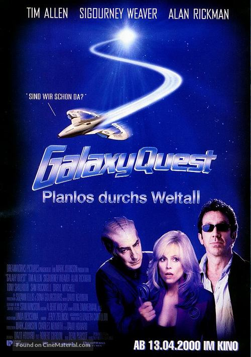 Galaxy Quest - German Movie Poster