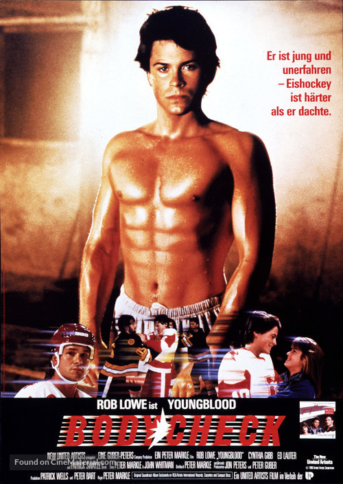 Youngblood - German Movie Poster