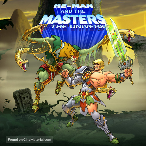 """""""He-Man and the Masters of the Universe"""" - DVD movie cover"""