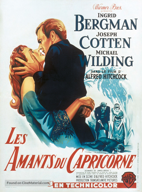 Under Capricorn - French Movie Poster