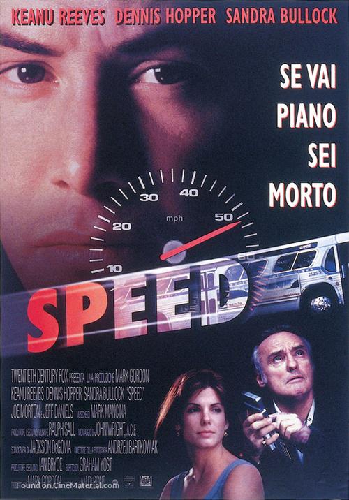 Speed - Italian Movie Poster