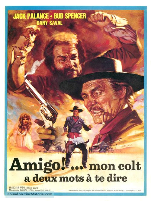 Si può fare... amigo - French Movie Poster