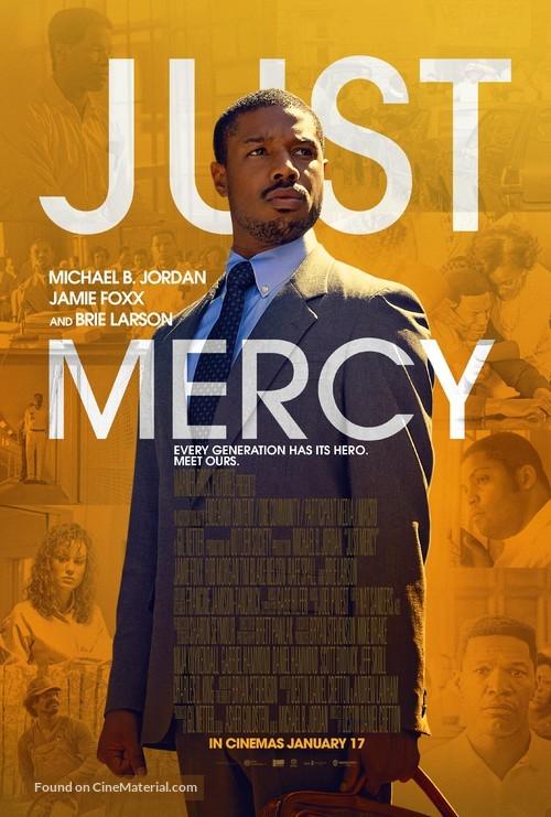 Just Mercy - British Movie Poster