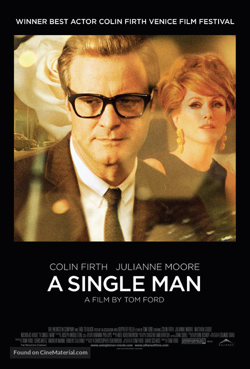 A Single Man - Canadian Movie Poster