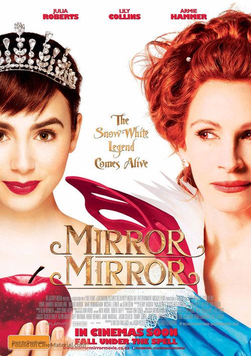 Mirror Mirror - Australian Movie Poster
