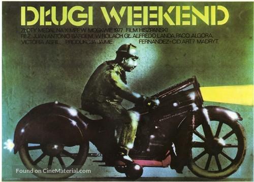 El puente - Polish Movie Poster