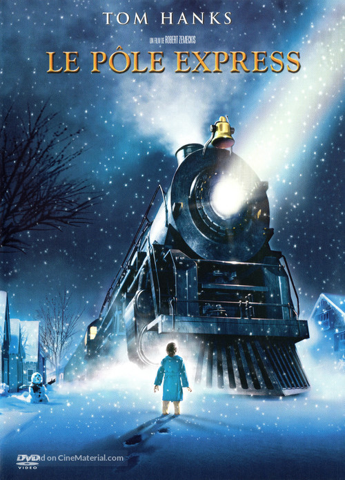 The Polar Express - French DVD movie cover