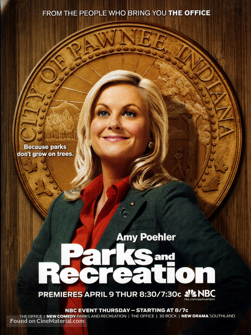 """""""Parks and Recreation"""" - Movie Poster"""