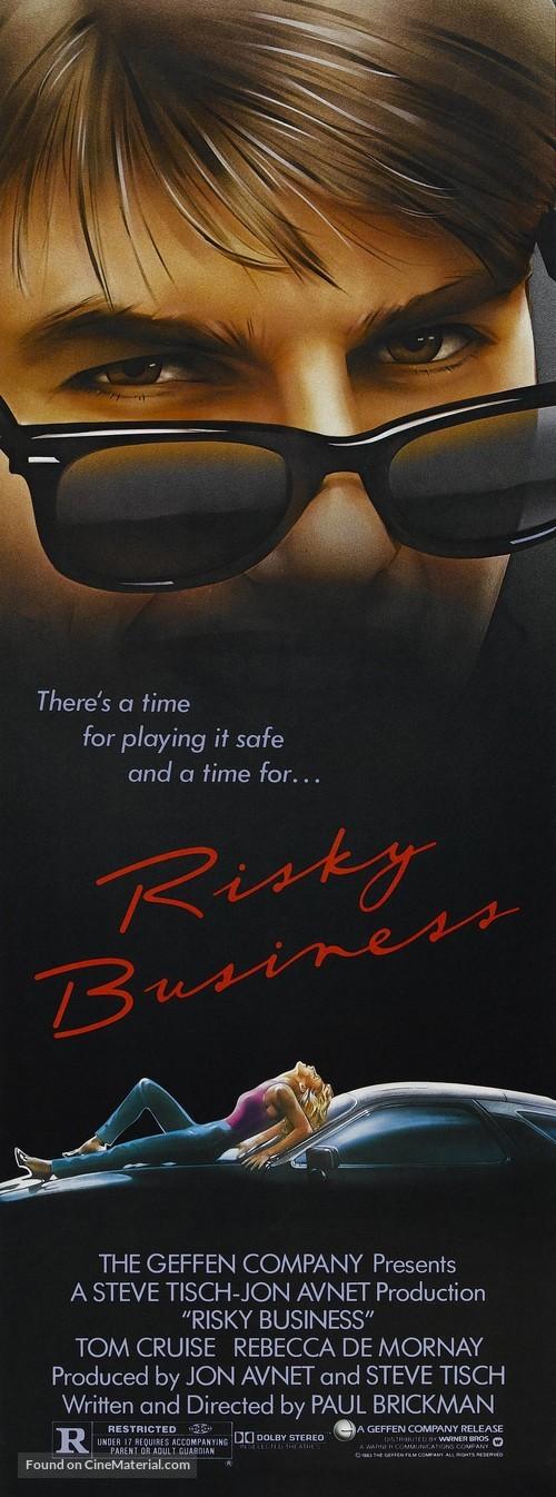 Risky Business - Movie Poster