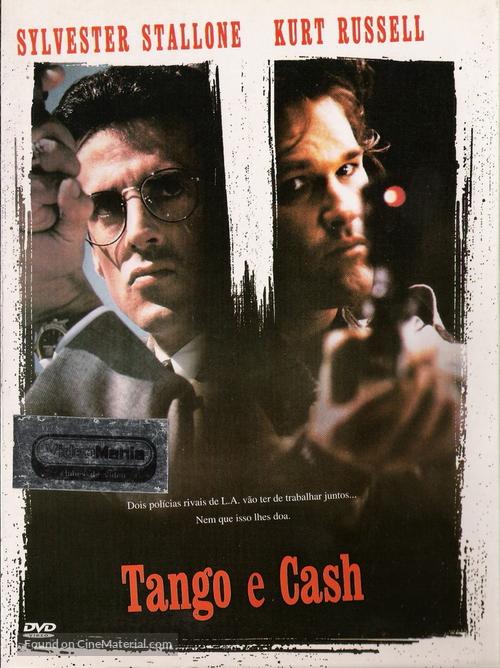 Tango And Cash - Portuguese Movie Cover