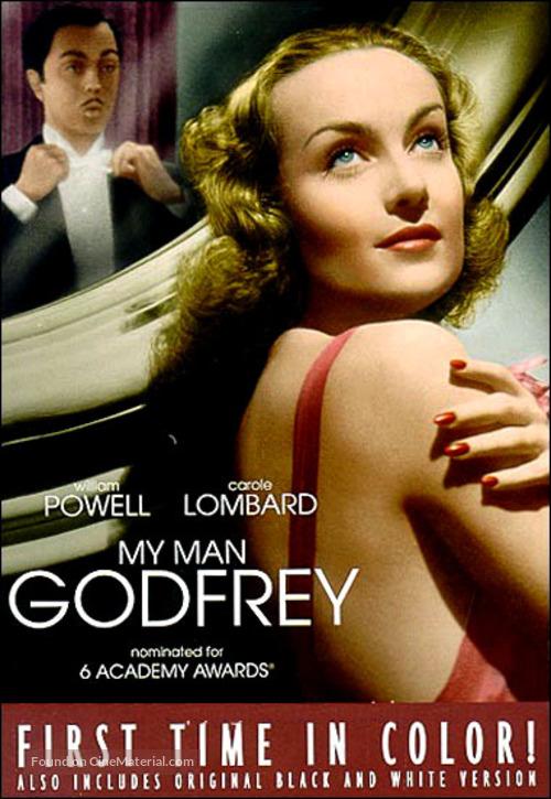 My Man Godfrey - DVD cover